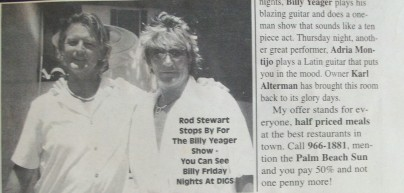 rodstewart billy yeager