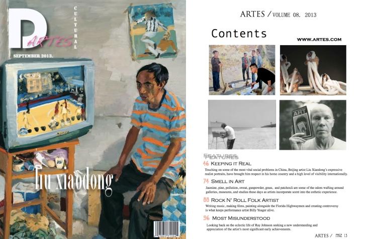 Artes Cover : Contents