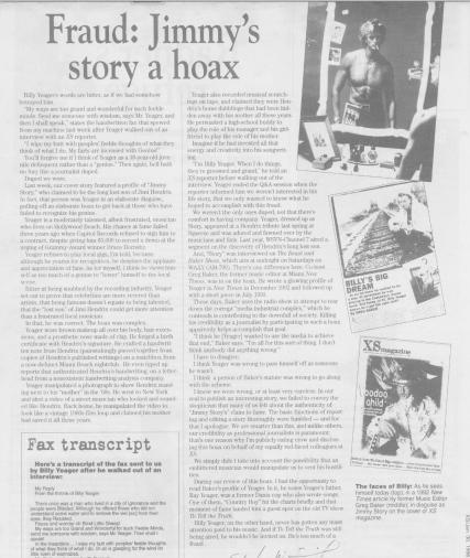 Jimmy Story Hoax XS