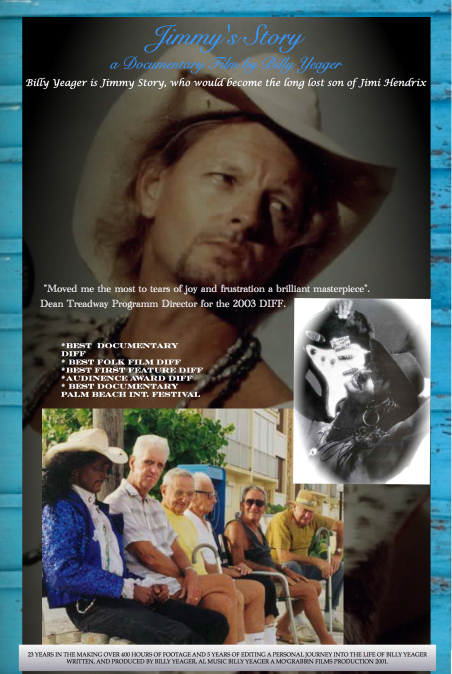 billy yeager film jimmy's story