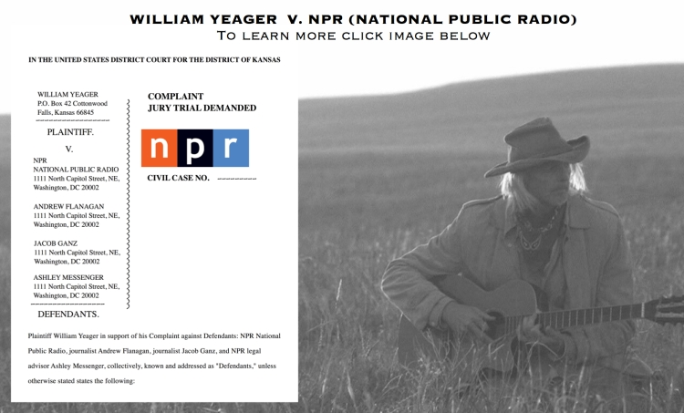 William Yeager NPR Lawsuit 2018