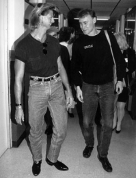 Grammy Award Winner Bruce Hornsby and Billy Yeager 1991.